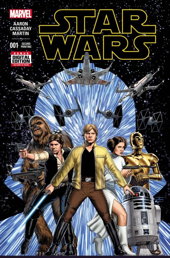 Star Wars #1 Second Printing - Cassaday Variant