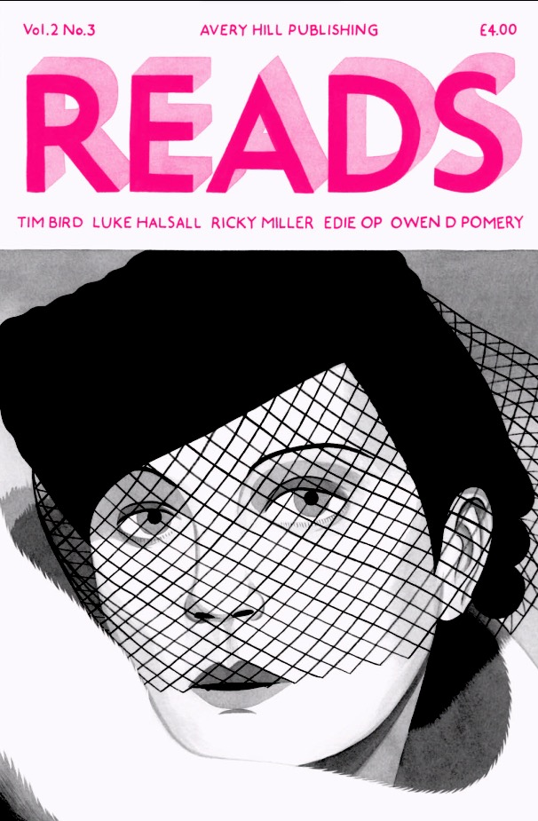 Reads Volume Two Issue 3 - Cover