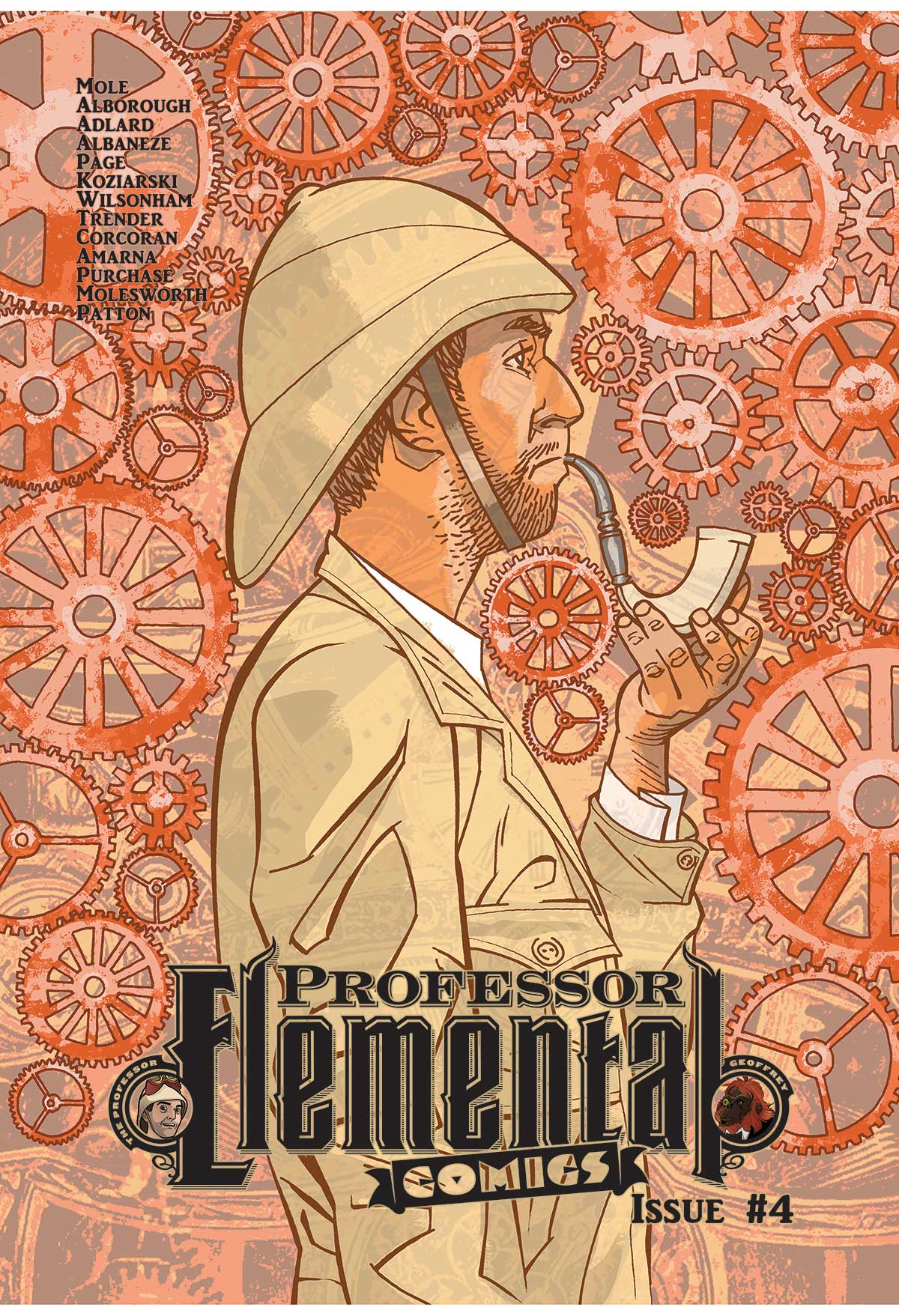 Professor Elemental #4 - Cover