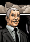 The Prime Minister in the new Dan Dare