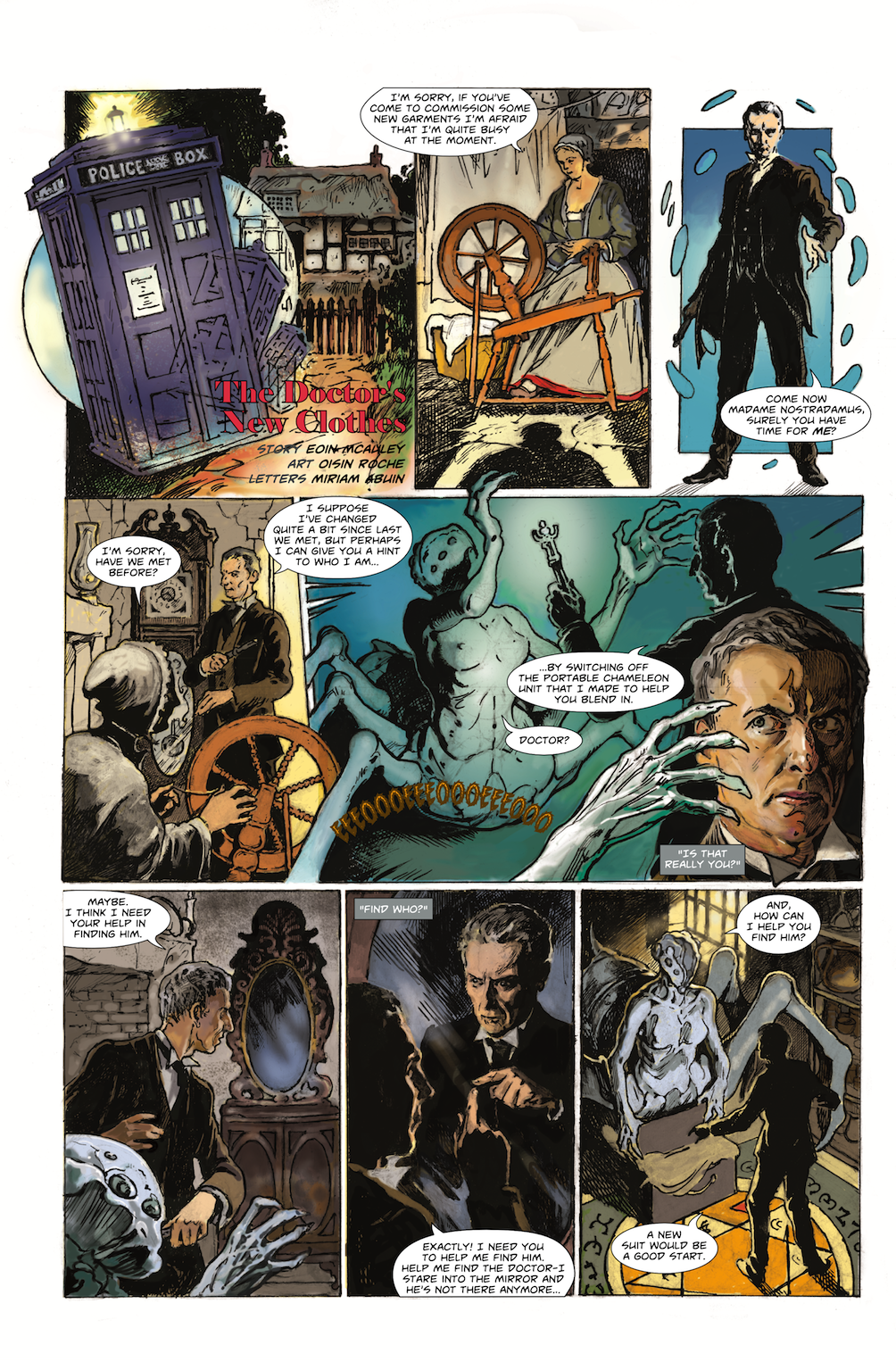The Doctor's New Clothes Page 1