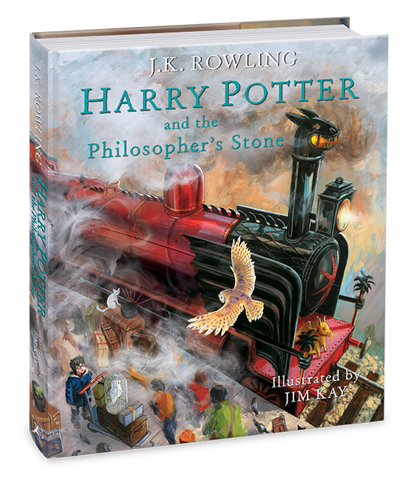 Harry Potter And The Philosopher's Stone Illustrated Edition by J.K. Rowling, illustrated by Jim Kay