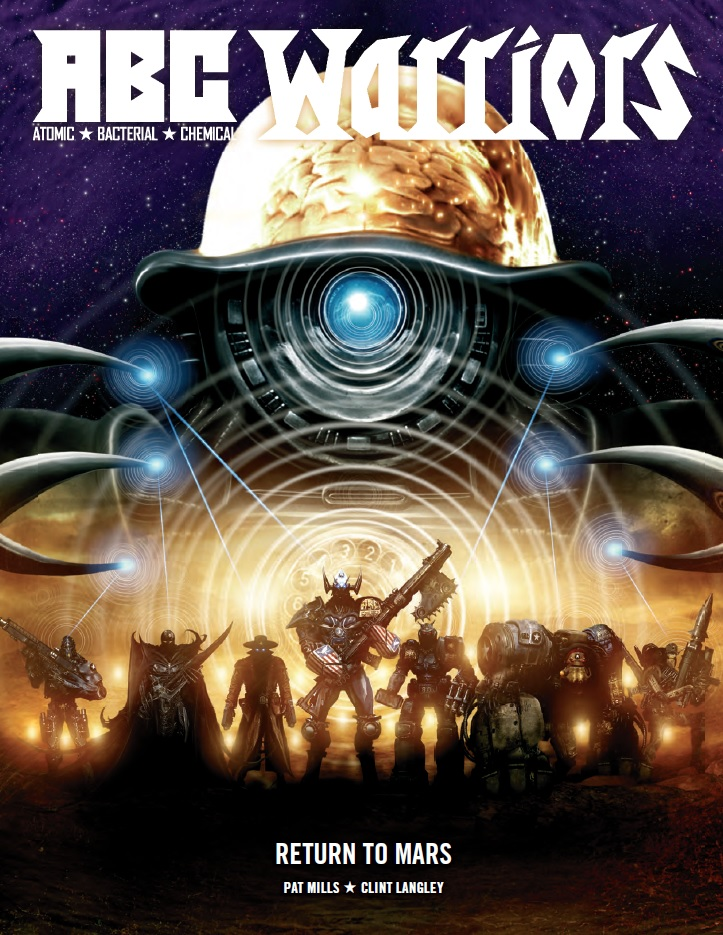 ABC Warriors: Return to Mars - Cover