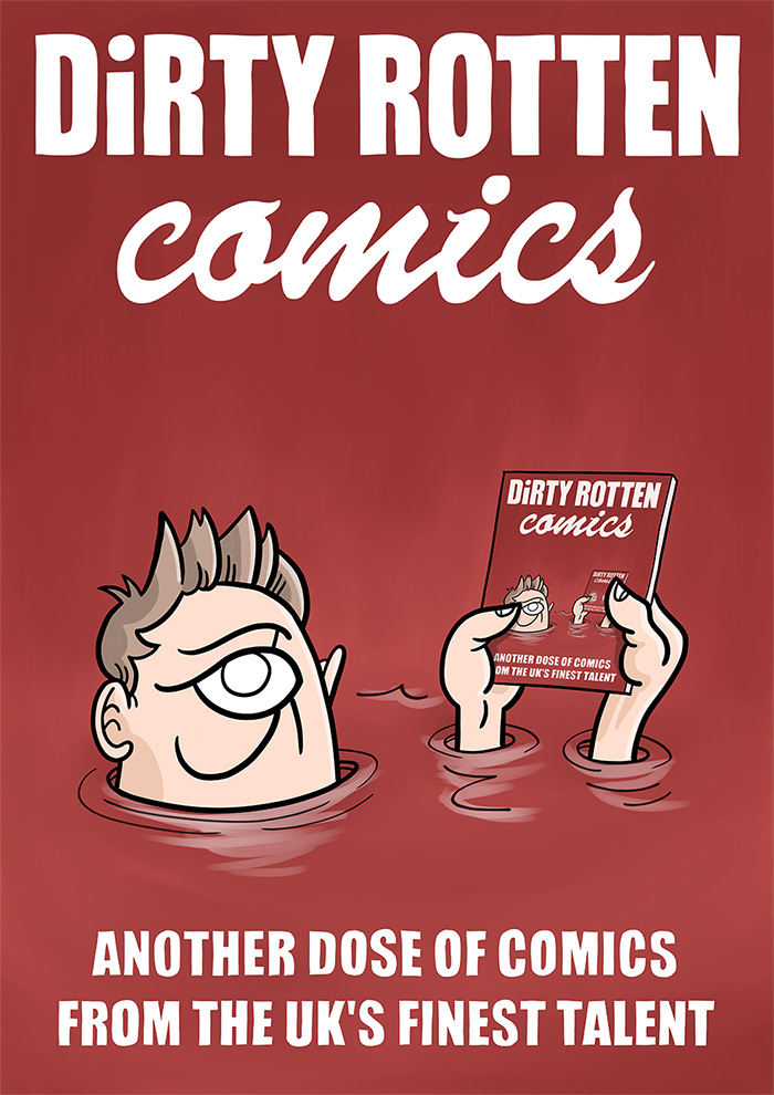 Dirty Rotten Comics Issue 4 - Cover