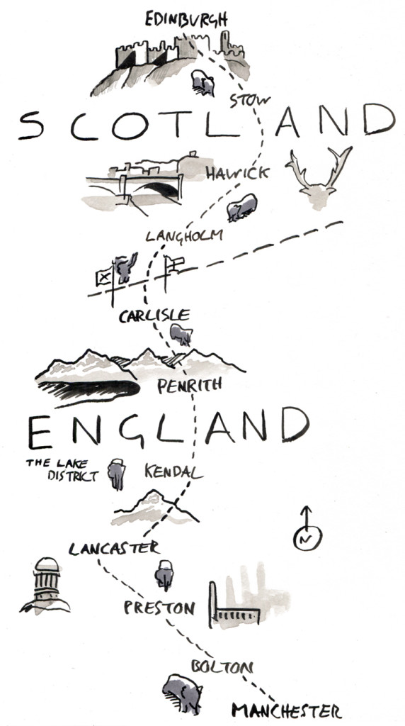 Take Me Back to Manchester: Elephant Walk Map