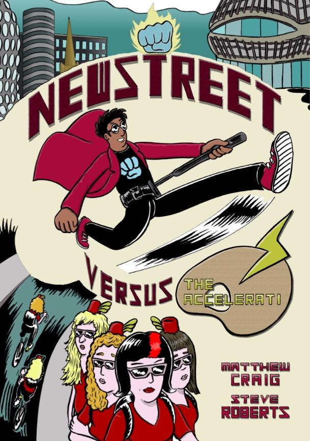 Newstreet versus The Accelerati - Cover