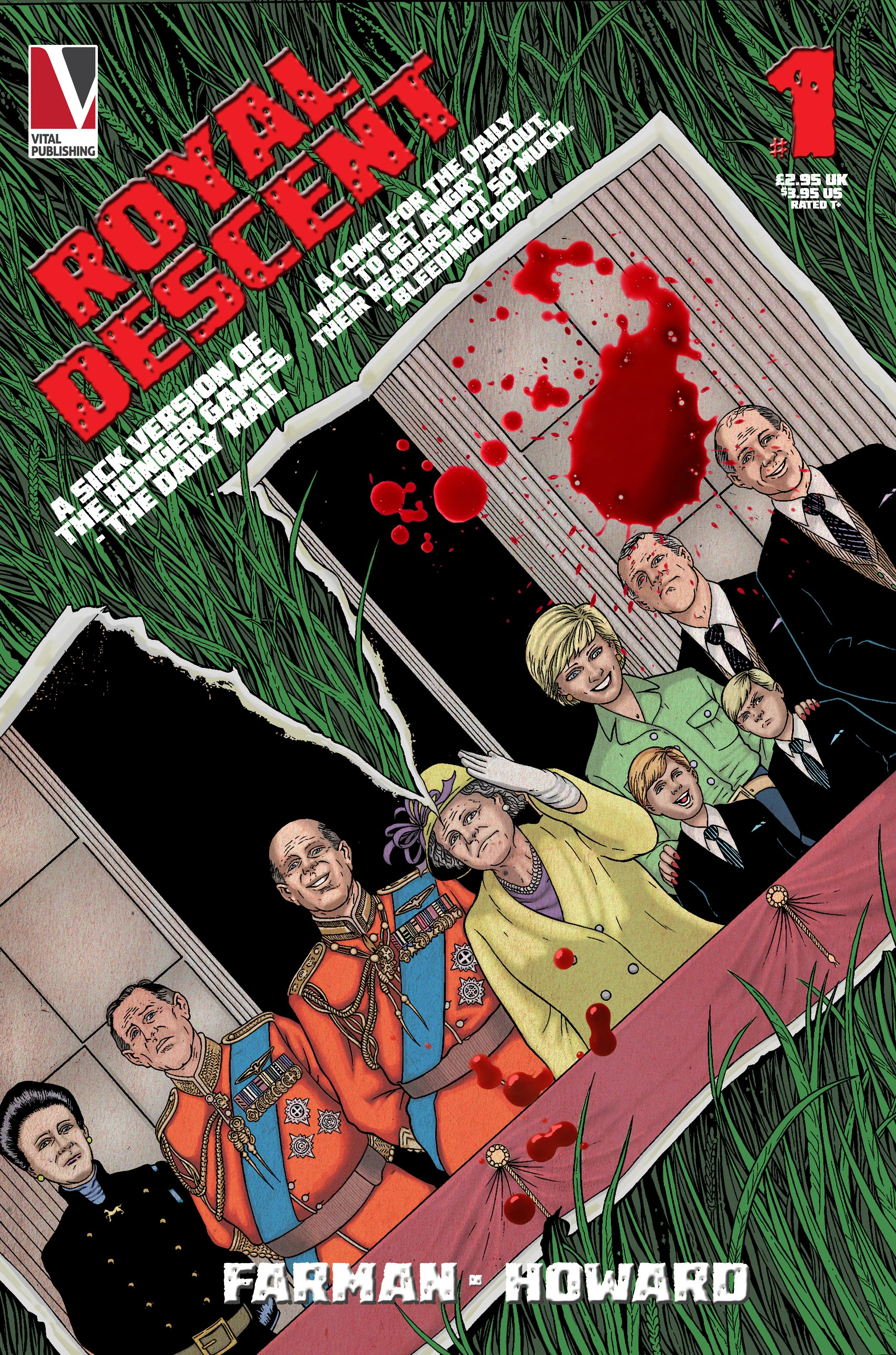 Royal Descent Issue 1 - Cover