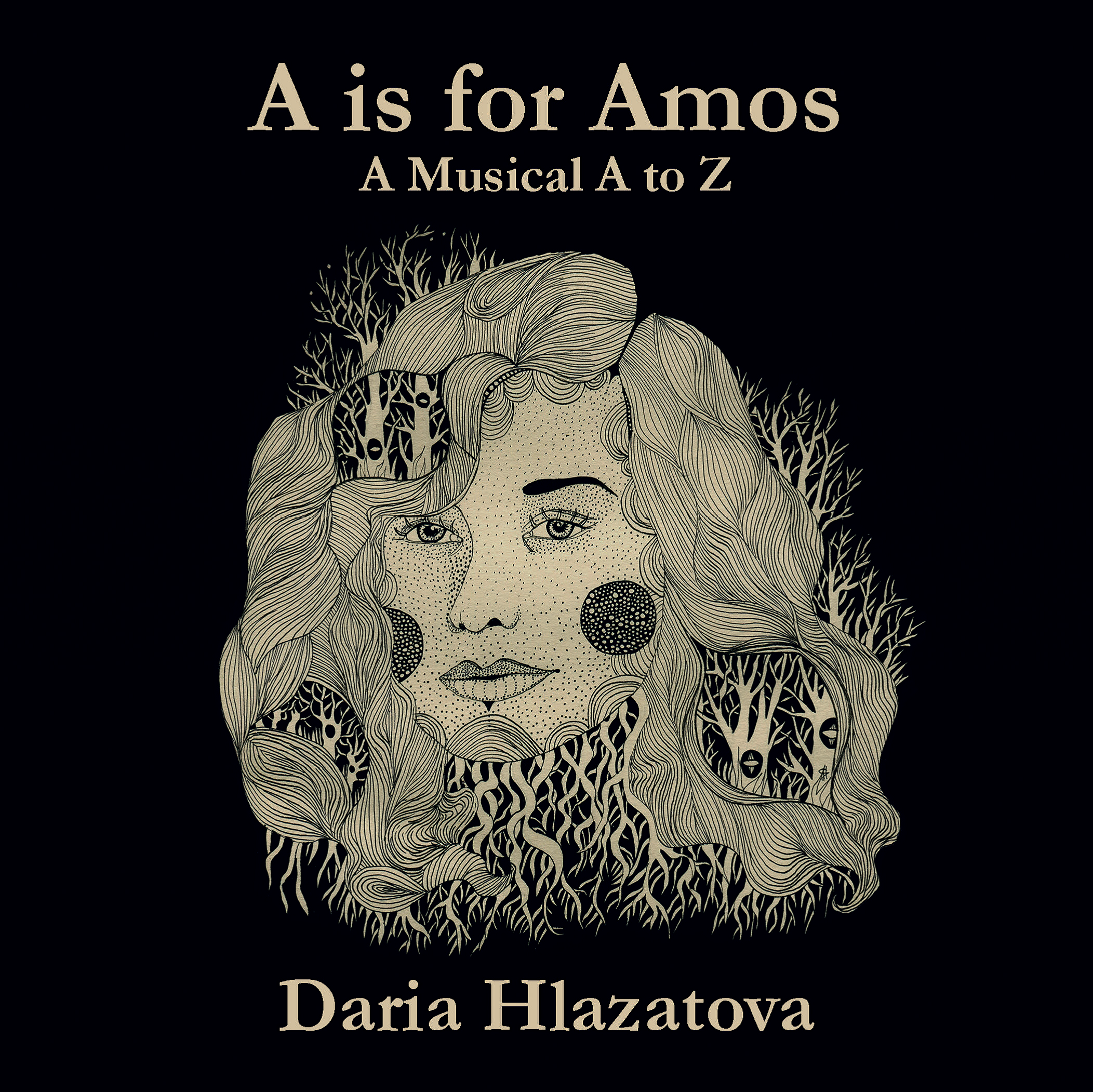 'A is for Amos' by Daria Hlazatova