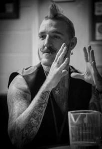 Author Adam Millard