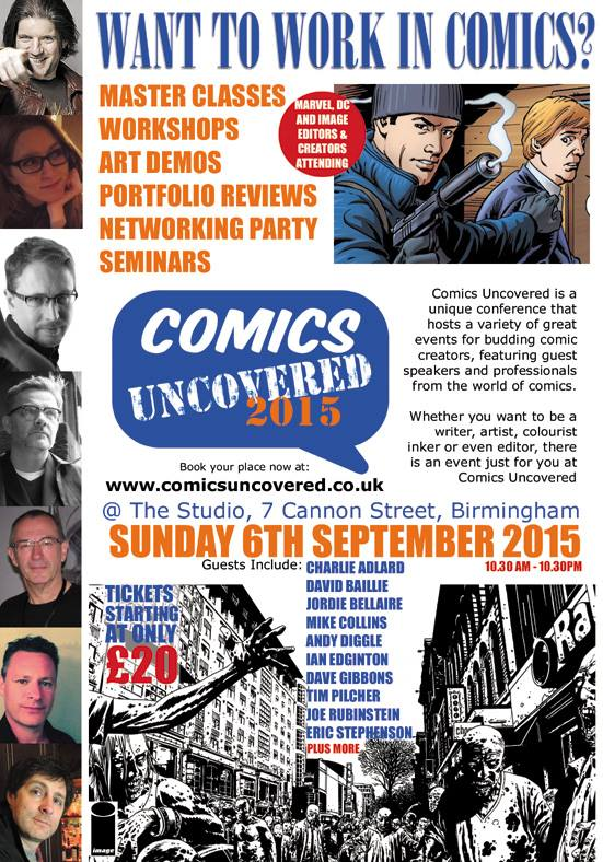 Comics Uncovered 2015