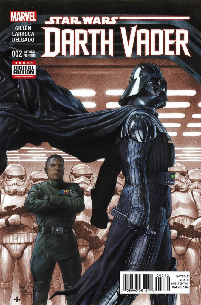 Darth Vader #2 Granov - Second Printing Variant