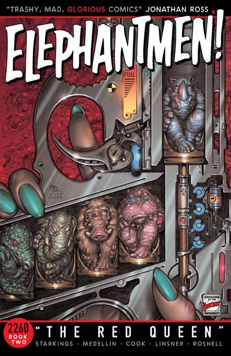 Elephantmen 2260 Trade Paperback Book 2