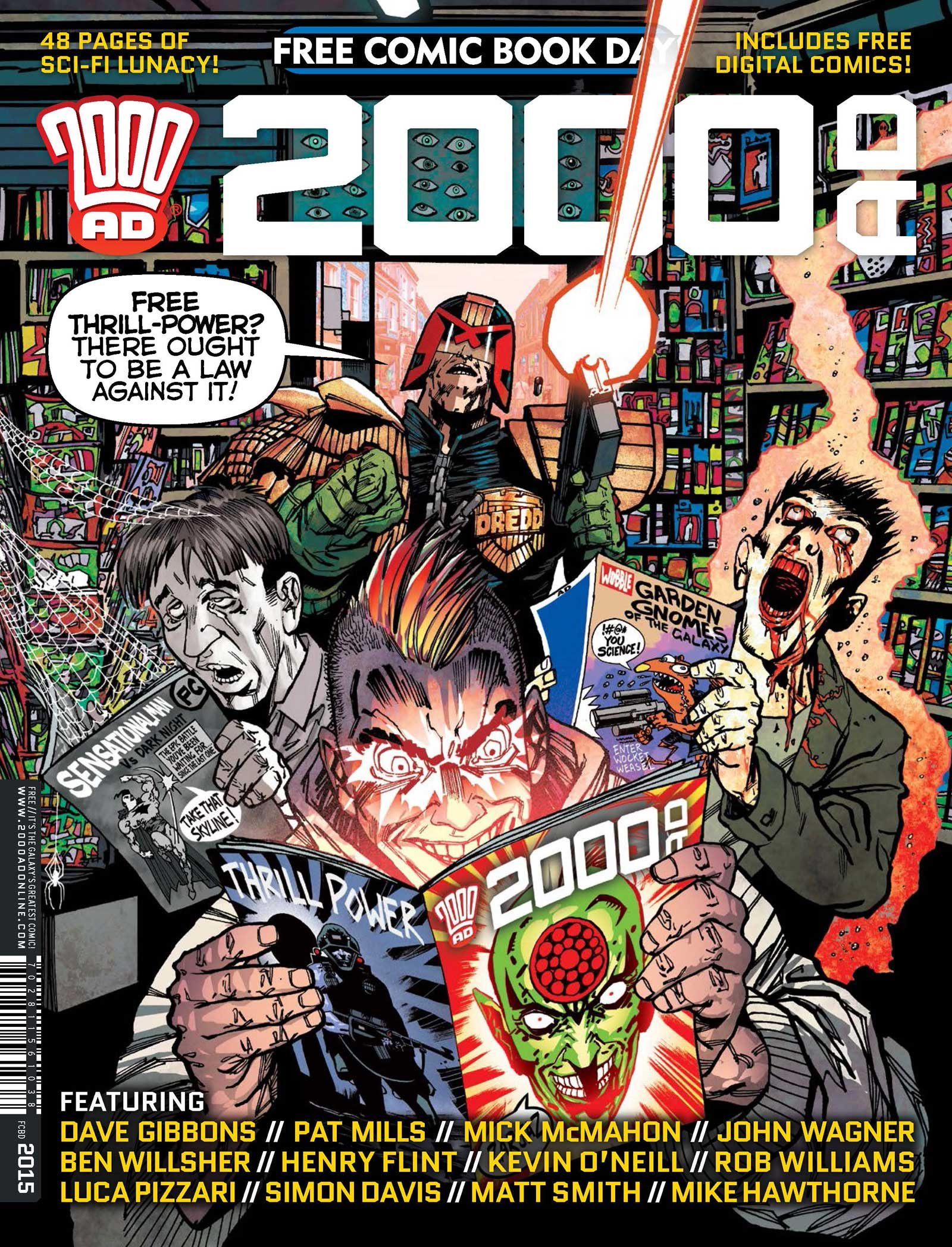 Free Comic Book Day 2015 - 2000AD