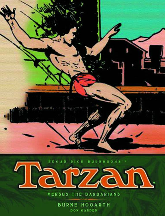 Tarzan Vesus the Barbarians
