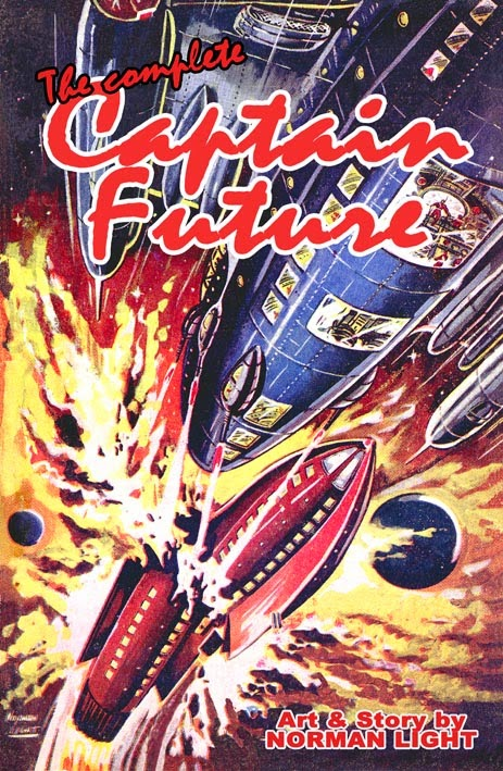 The Complete Captain Future - Cover