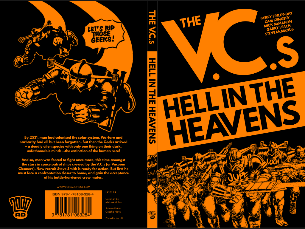 The VCs: Hell in the Heavens - Cover