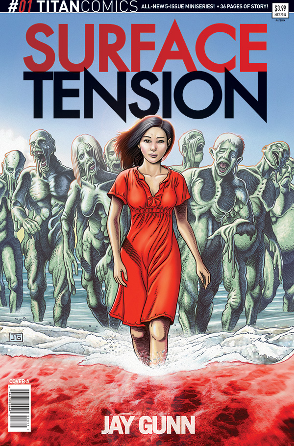 Surface Tension #1 - Cover