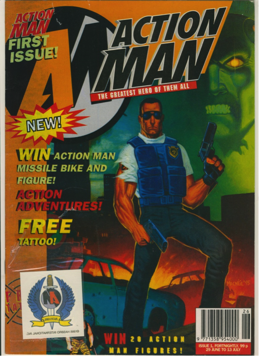 Action Man Issue 1