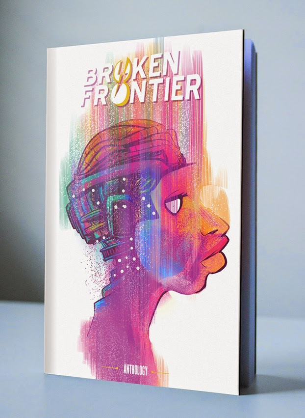 Broken Frontier Anthology Cover by Robbi Rodriguez