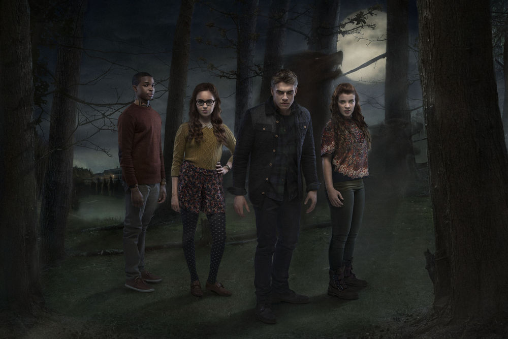 A promotional image for the third season of the BBC drama Wolfblood. Image: BBC