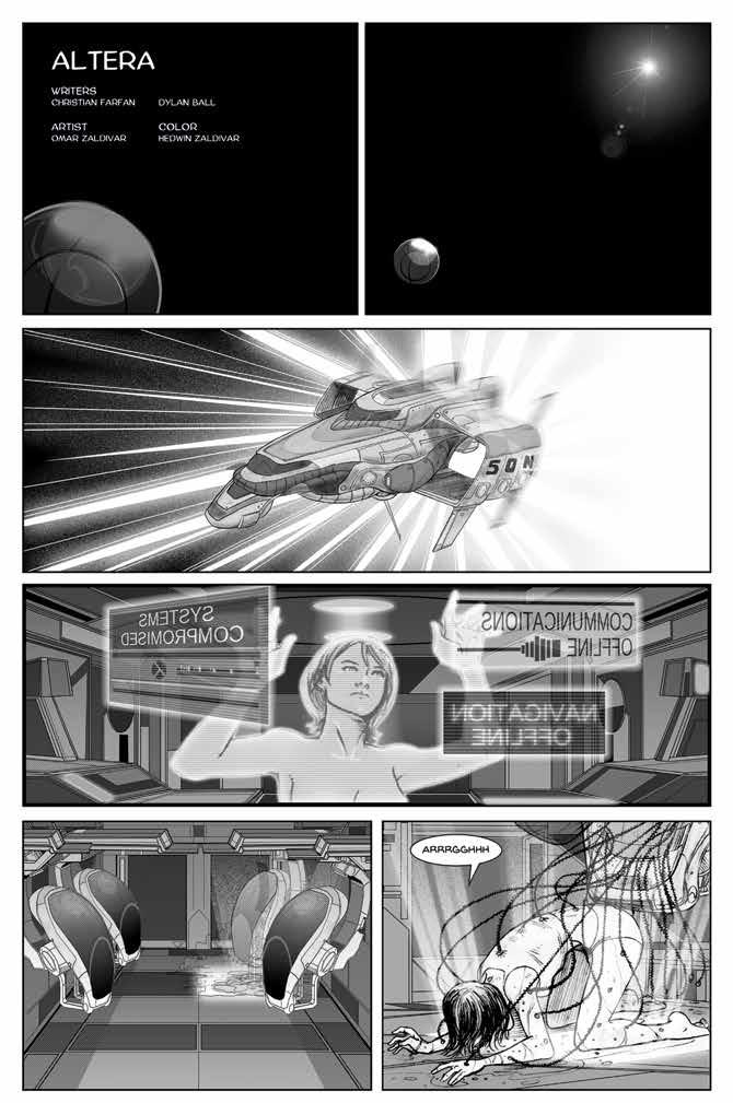 Lost in Space Anthology - Altera by Christian Farfán, Dylan Ball, Omar Zaldivar & Hedwin Zaldivar
