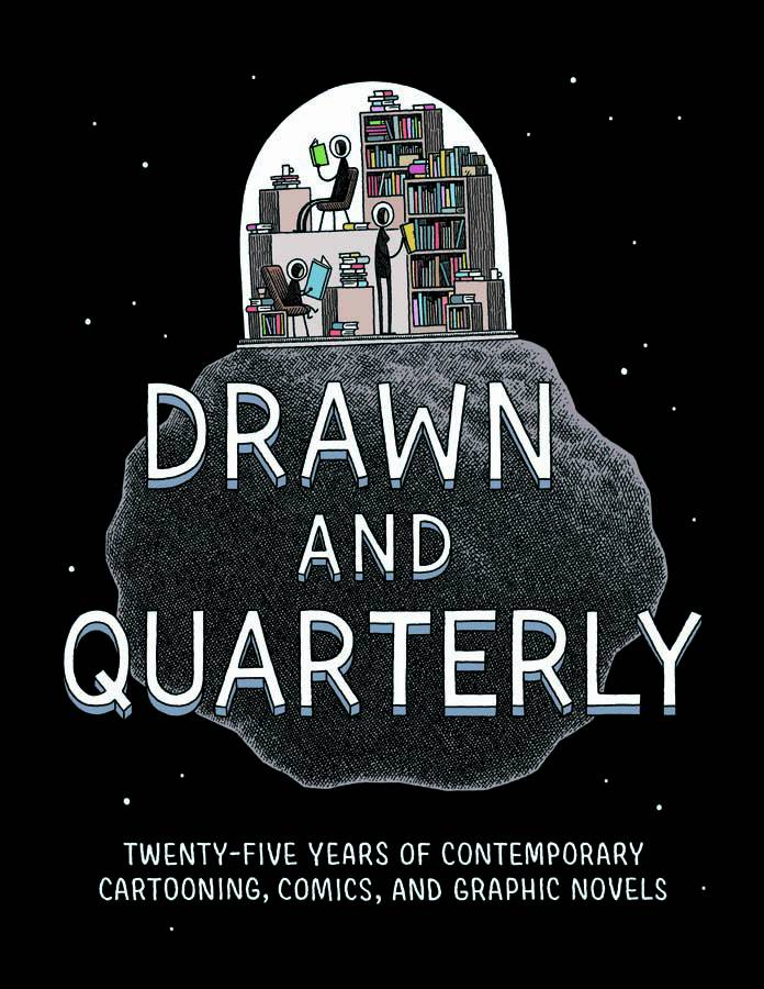 D&Q 25 Years Of Contemporary Cartoon Comic & Graphic Novel Hard Cover