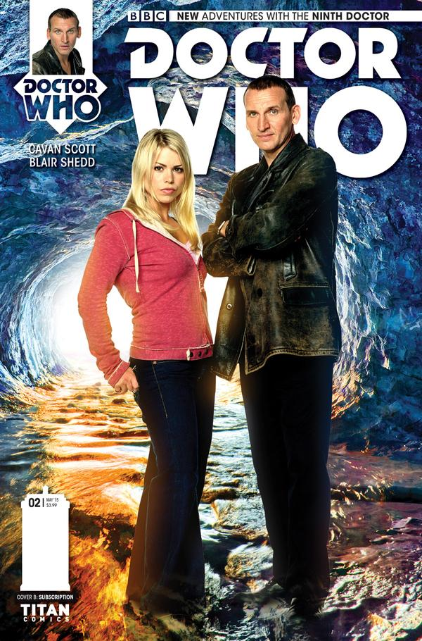 Doctor Who 9 #2 - CoverB