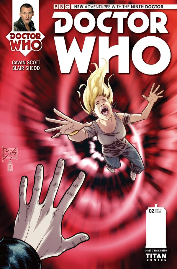 Doctor Who 9 #2 - Cover C