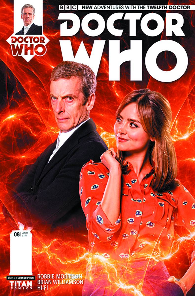 Doctor Who: Twelfth Doctor #8 - Subscription Cover
