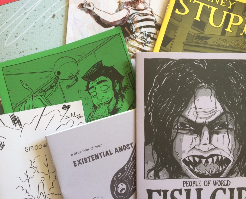 Just some of the comics on sale at Crouch End Comic Arts Festival 2015. Photo: Antony Esmond