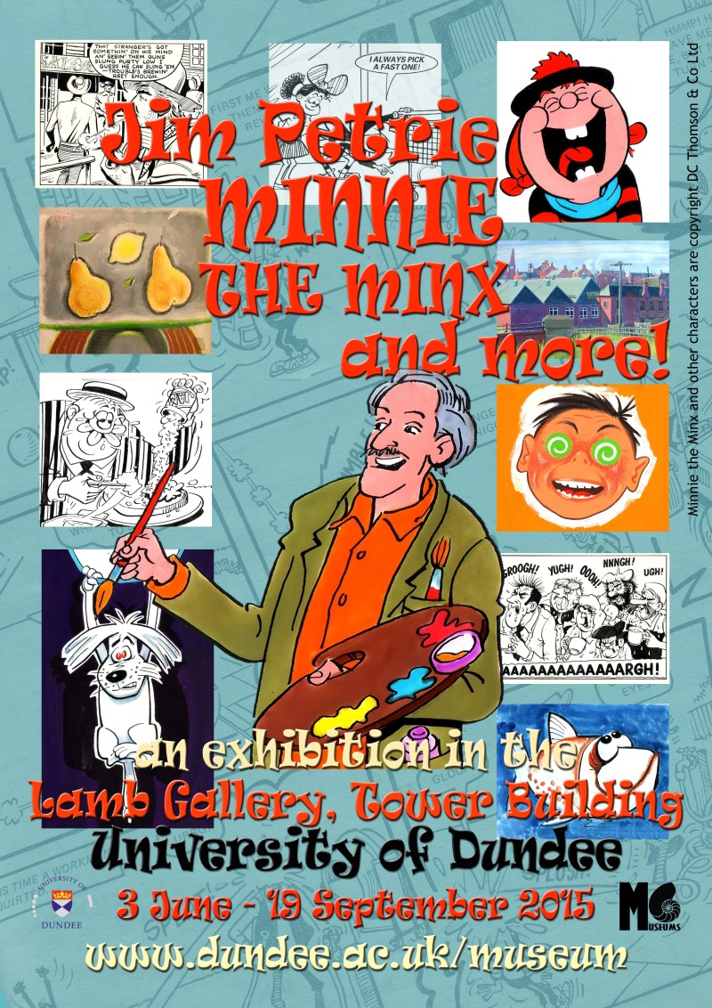 Jim Petrie 2015 Memorial Exhibition Poster