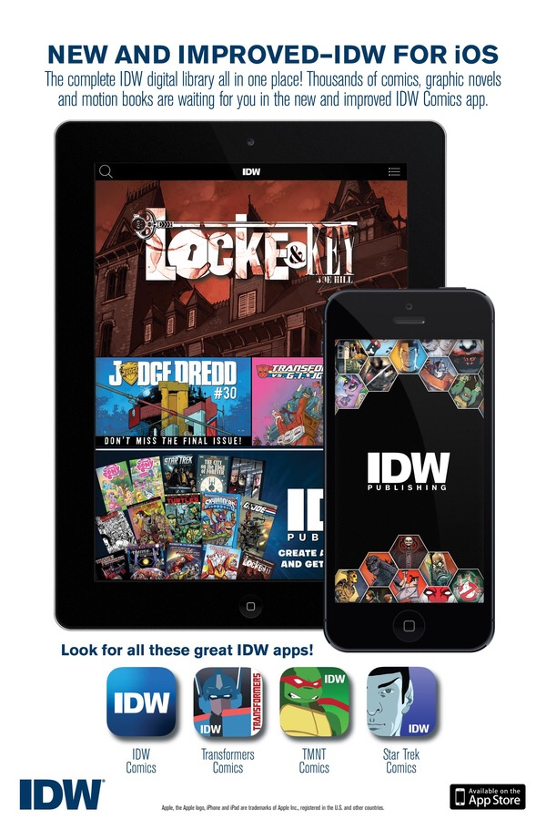 IDW Digital Comics 2015 - Promotional Image