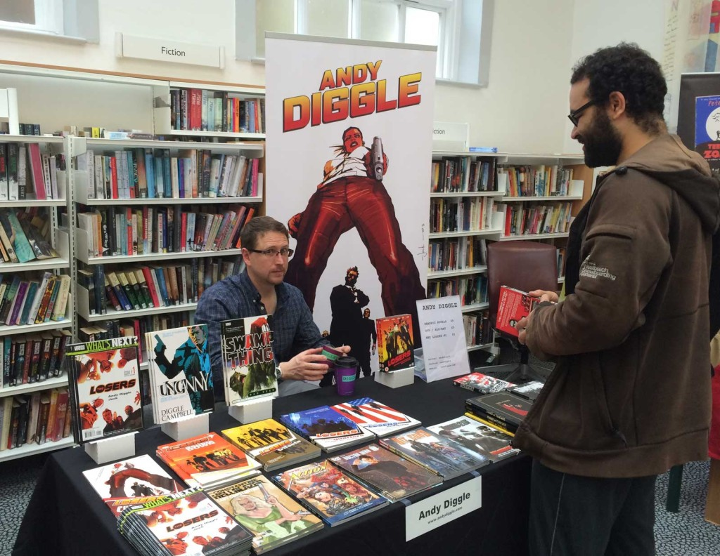 Marvel and Image Comics writer Andy Diggle