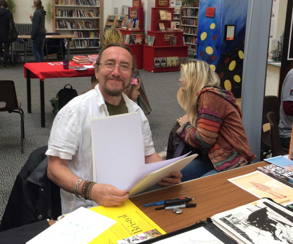 2000AD and Doctor Who artist Dave Taylor