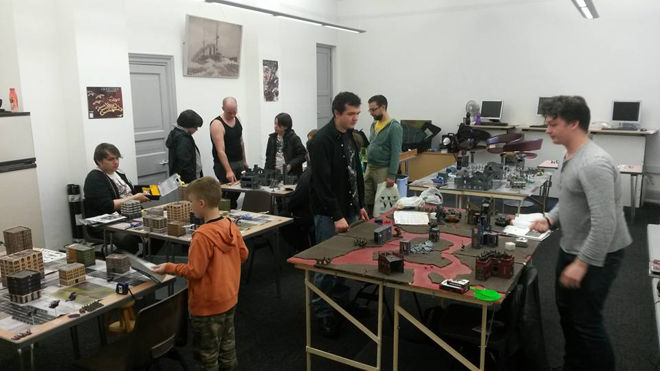 The Games Room at Lancaster Comics Day. Photo: House Lancaster Gaming Group