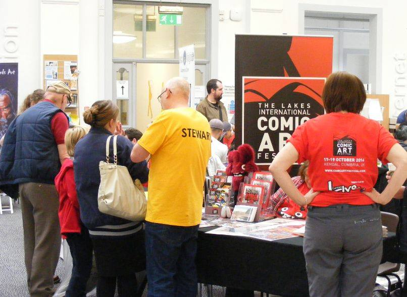 Lancaster Comics Day - The Library