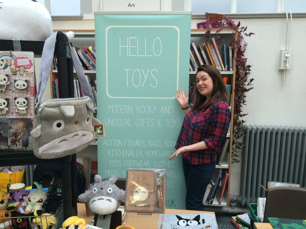 Hello Toys from Carlisle had an eclectic stall with some fun items for sale