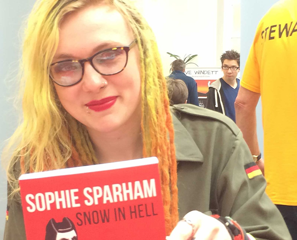 Author Sophie Sparham