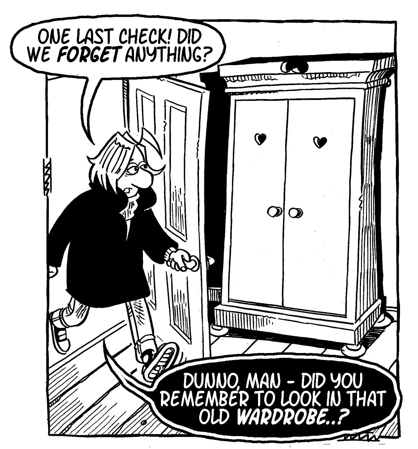 The Really Heavy Greatcoat - Lancaster Comics Day 2015 Special - SNIP