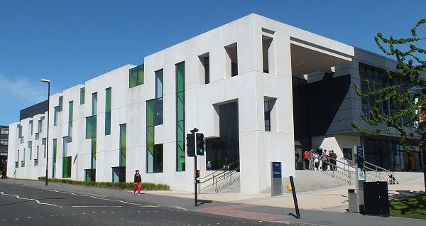 The University Of Sunderland's CitySpace Building. Photo: Jeremy Briggs