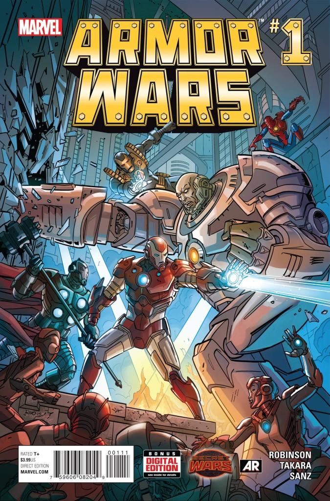 Armor Wars #1 (Secret Wars)