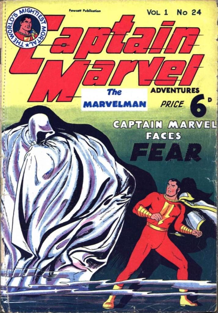 The L. Miller-published Captain Marvel Issue 24.