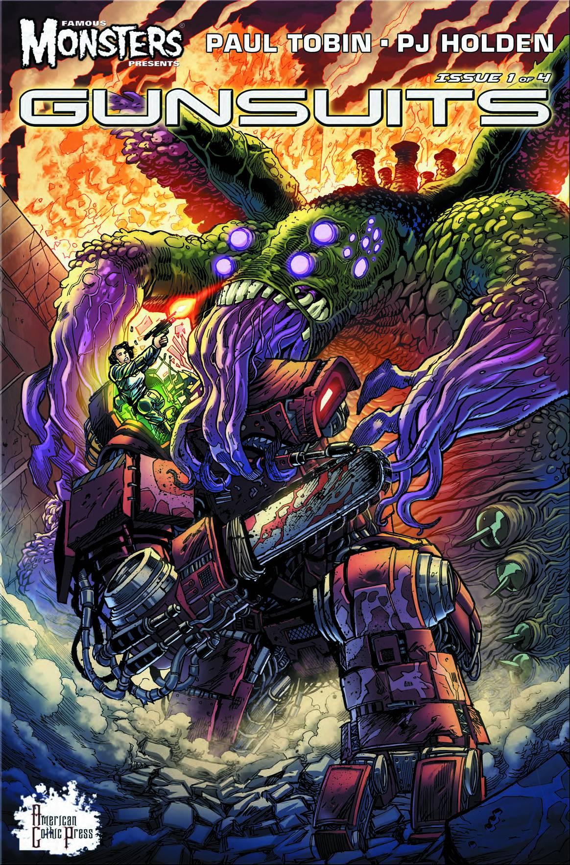 Famous Monsters Presents Gunsuits #1