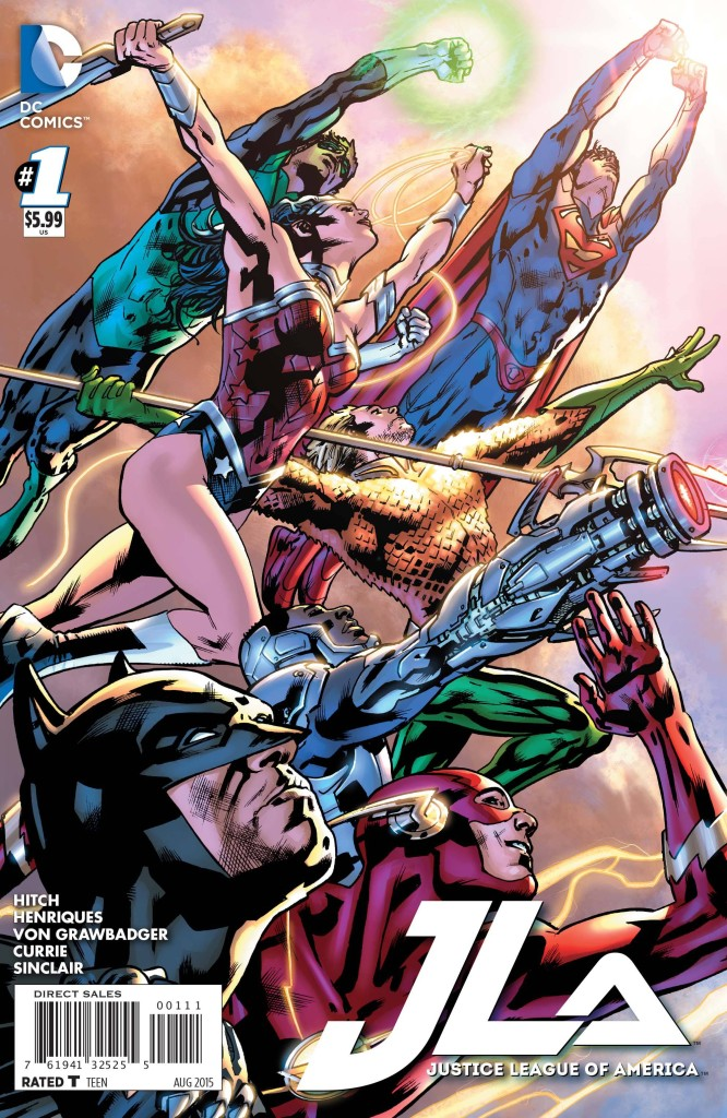 Justice League Of America #1 - 2015