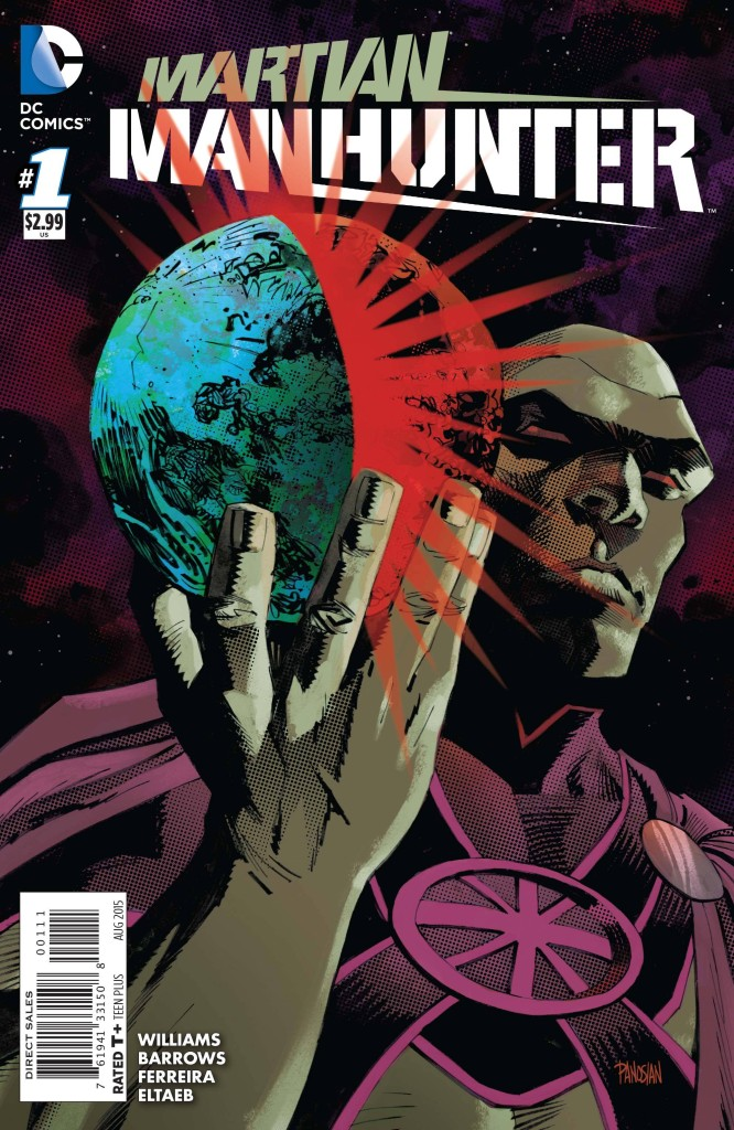 Martian Manhunter #1 - 2015