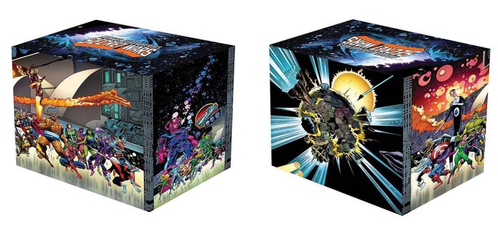 Marvel Superheroes Secret Wars Battleworld Box Set Slipcase Hard Cover