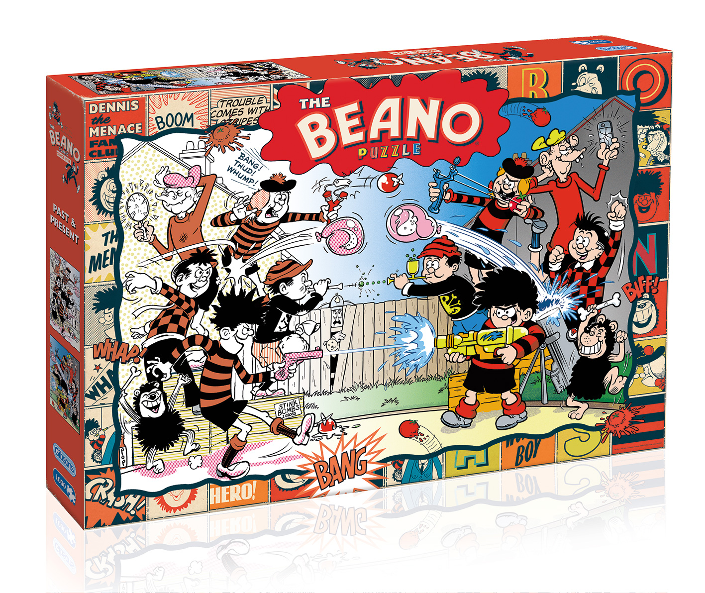 Gibsons Beano Past and Present Jigsaw