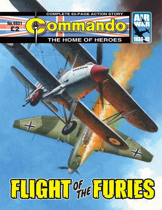 Commando No. 4831 – Flight Of The Furies