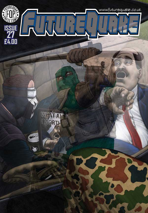FutureQuake Issue 27 - Cover