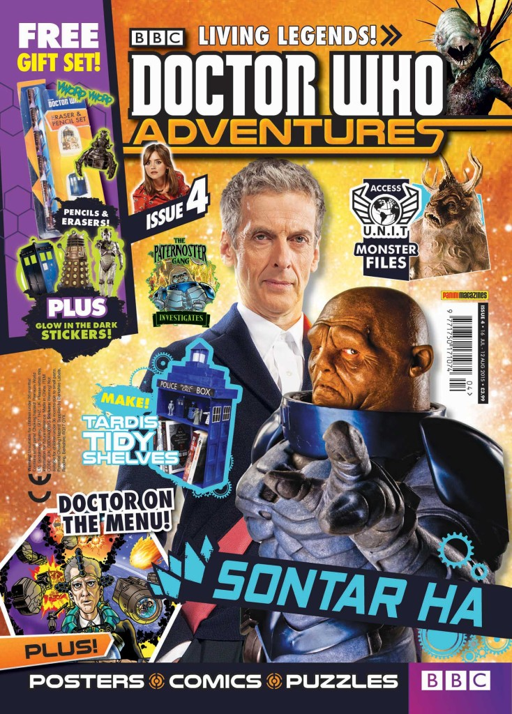 Doctor Who Adventures #4 - 2015 - Cover